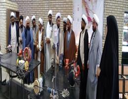 بازدید امامان جماعت مساجد شهرستان تایباد از مرکز آموزش فنی و حرفه ای شهید عباسیان تایباد