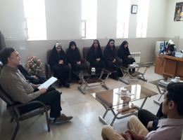 جلسه اجرایی نمودن تفاهم نامه همکاری آموزشی فی ما بین سازمان آموزش و فنی و حرفه ای کشور و اتحادیه انجمن های اسلامی دانش آموزان در مرکز بجستان