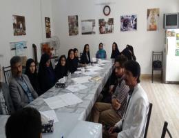 بازدیداز آموزشگاه های آزاد وجلسه بامدیران آموزشگاهها