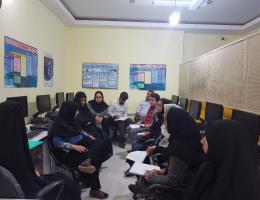 برگزاری جلسات آموزشگاههای آزاد شهرستان کاشمر