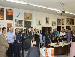بازدید مسئول دفتر کمیساریای عالی سازمان ملل در امور پناهندگان به همراه تنی چند از سفرای کشورهای آسیایی و اروپایی و مسئولین استان از مرکز آموزش فنی و حرفه ای نجمه مشهد