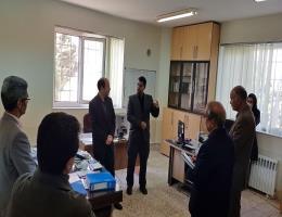 گزارش تصویری بازدید فرماندار کاشمر از مرکز آموزش فنی و حرفه ای کاشمر