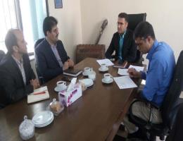 جلسه راه اندازی مرکز آموزش فنی و حرفه ای خوشاب