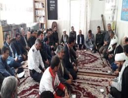 دیدار با امام جمعه شهرستان در اولین روز از هفته دفاع مقدس