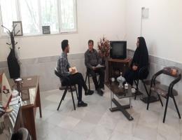 دیدار با ریاست محترم اداره بنیاد شهید و امور ایثارگران به مناسبت هفته دفاع مقدس