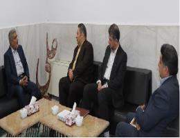 نشست مشترک مدیرکل آموزش فنی و حرفه ای خراسان رضوی با ریاست سازمان صنعت ، معدن و تجارت استان