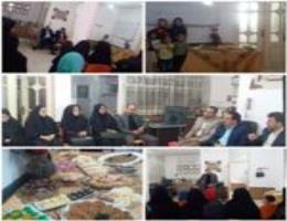 بازدید فرماندار زاوه و هیات همراه از آموزشهای روستائی شهرستان زاوه