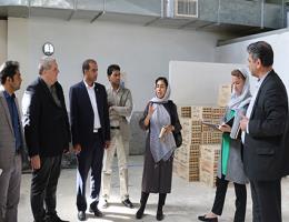 بازدید از کارگاههای آموزشی مراکز مشهد در حوزه صنعت ساختمان توسط کارشناسان موسسه سکوای آلمان