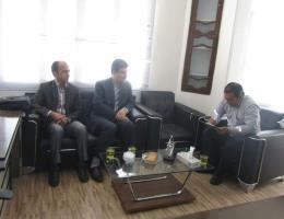 جلسه معین اقتصادی مدیرعامل شرکت مروارید دشت جوین