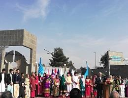 افتتاحیه نمایشگاه فرهنگ ملل در دانشگاه فردوسی مشهد